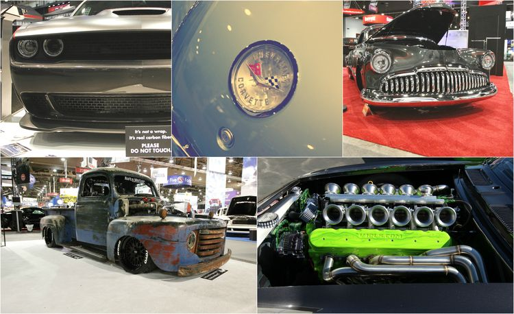 The Best of SEMA 2016, Day Three: Sleepers, a Four-Rotor Wankel, and a 12-Cylinder Small-Block
