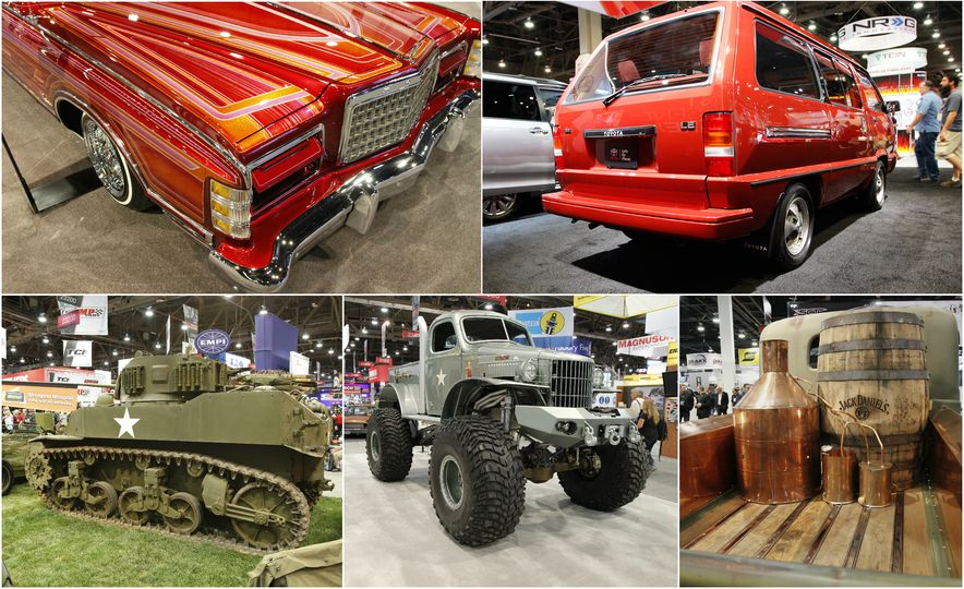 The Best of SEMA 2016, Day One: A Batmobile, Insane Customs, and (of Course) a Tank - Slide 1