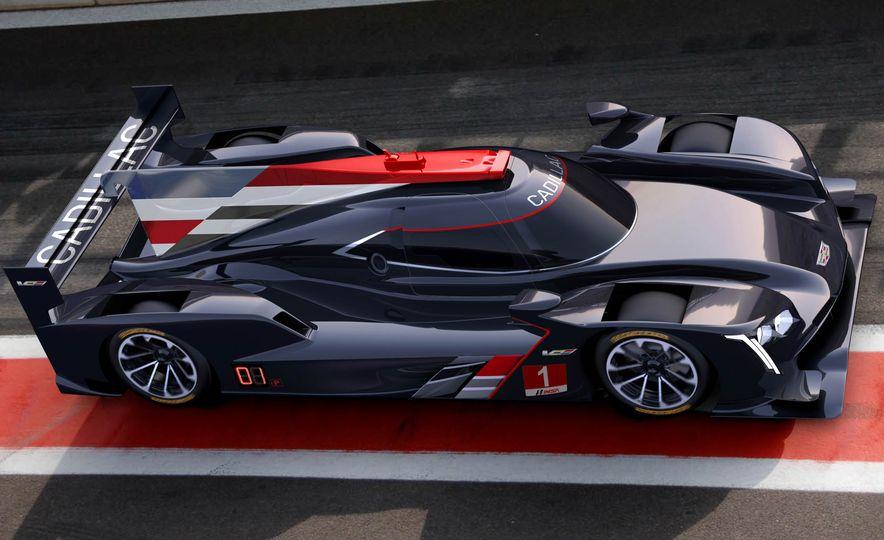 Cadillac DPi-V.R prototype race car - Slide 1