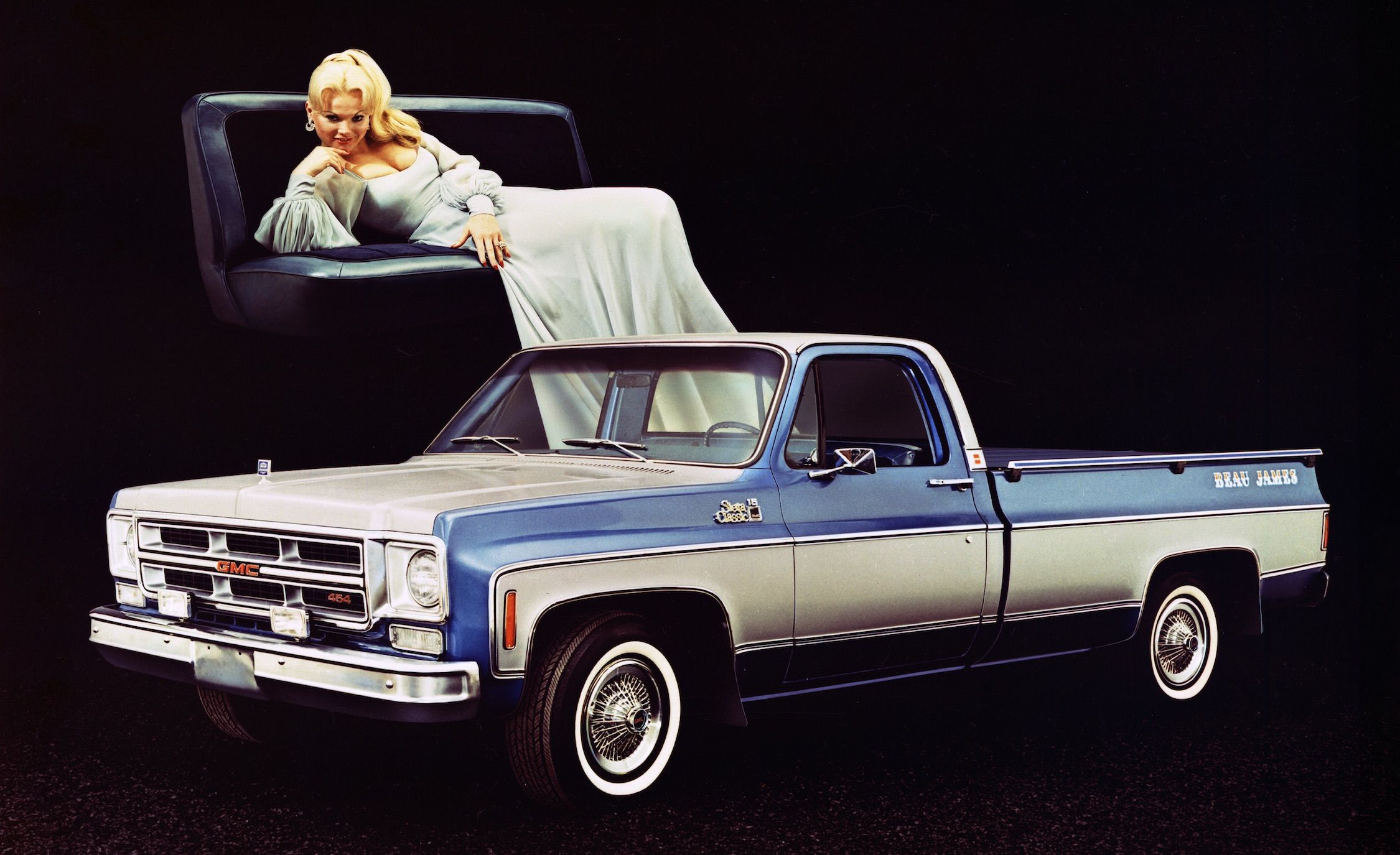 Mondo Macho Special Edition Trucks Of The 70s K Billys Super 1983 Chevy C10 Pickup Truck Badge And Stripe Jobs