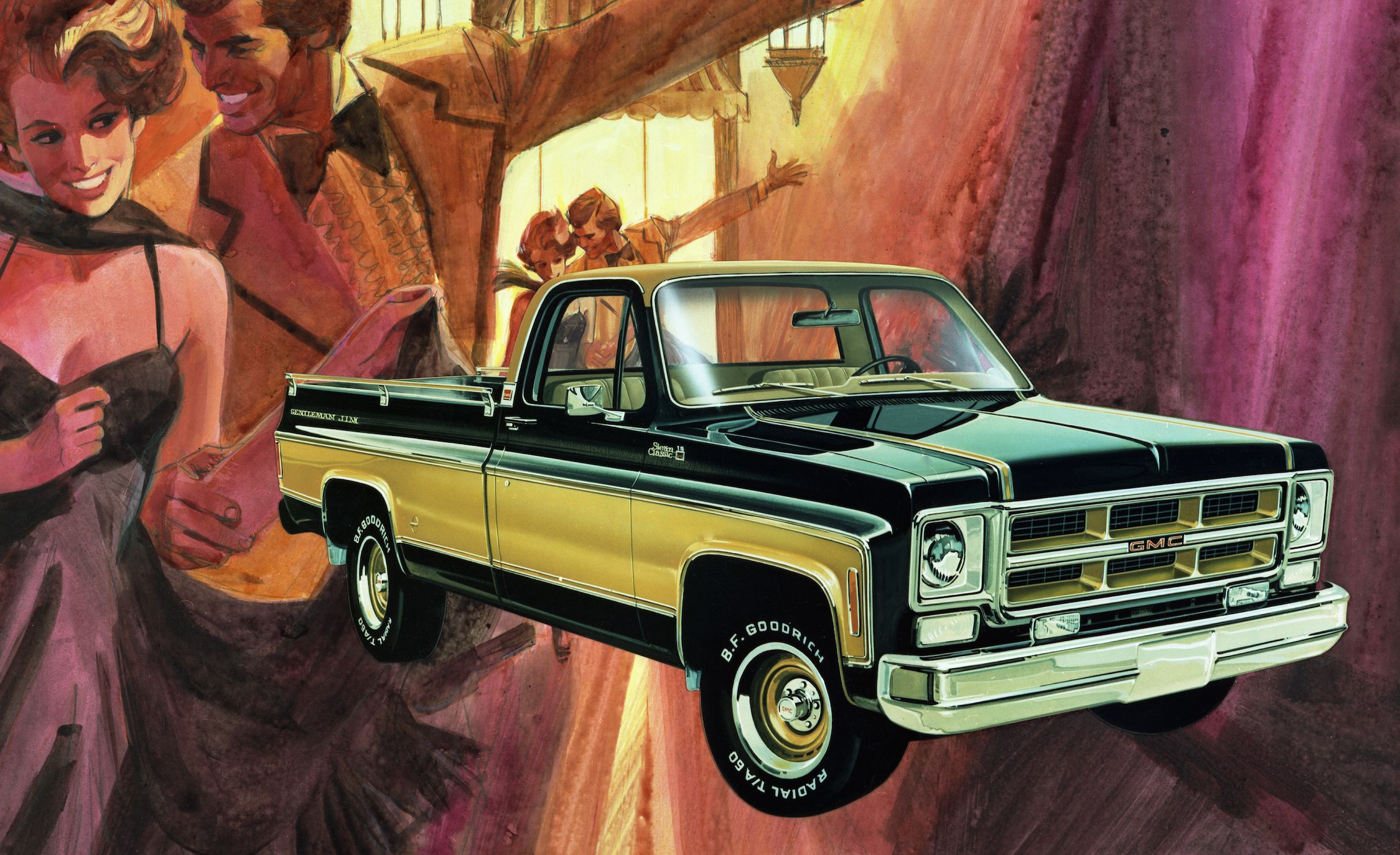 Mondo Macho Special Edition Trucks Of The 70s K Billys Super 1976 Chevy Half Ton Pick Up Badge And Stripe Jobs