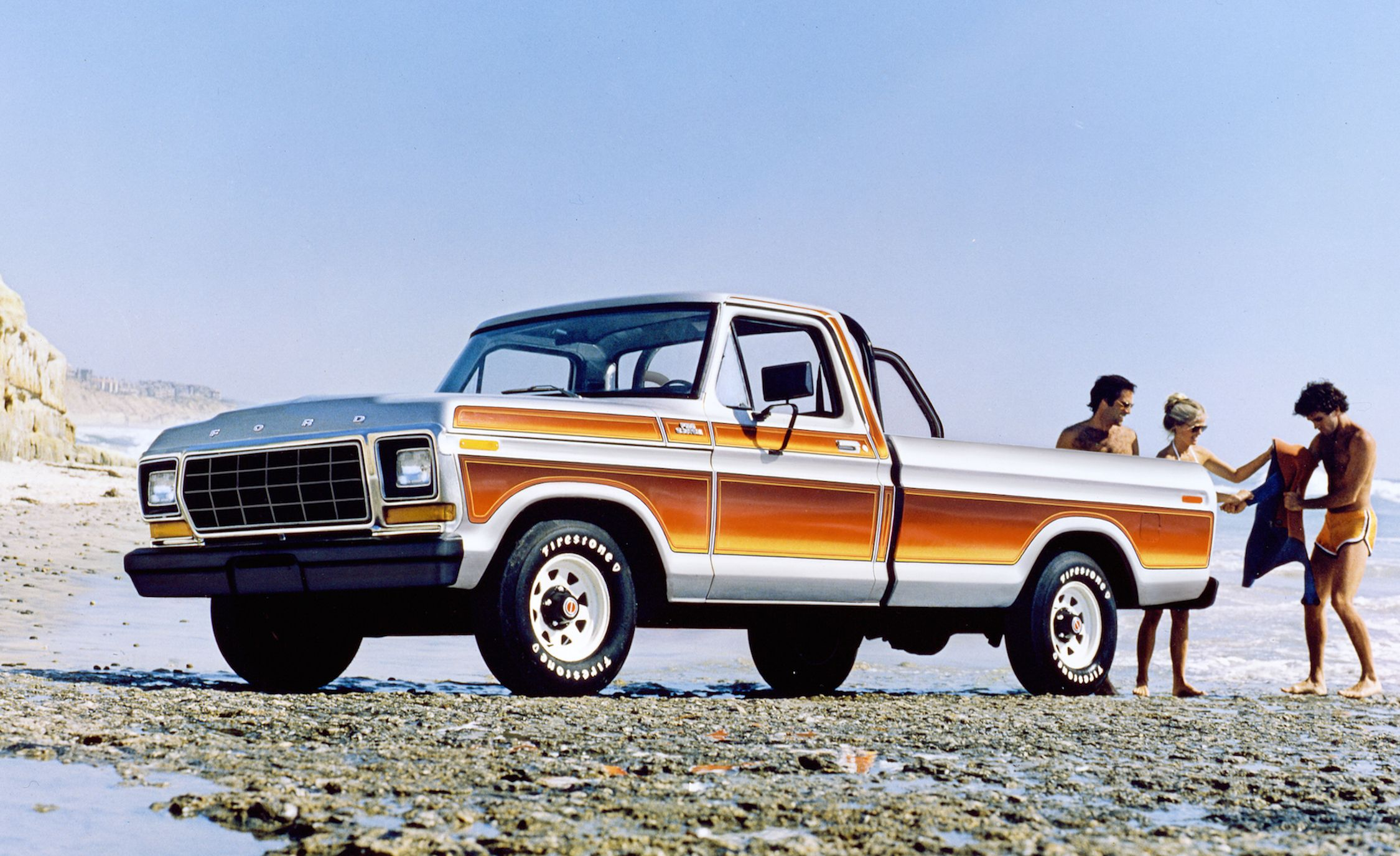 Mondo Macho Special Edition Trucks Of The 70s K Billys Super 1970 Ford F250 Rear Axle Nut Socket Badge And Stripe Jobs