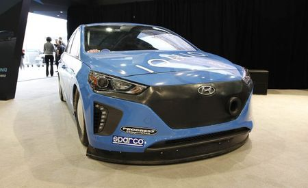 Ioniq Ironic: Hyundai Pushes Eco-Hybrid to Autobahn Speeds at Bonneville