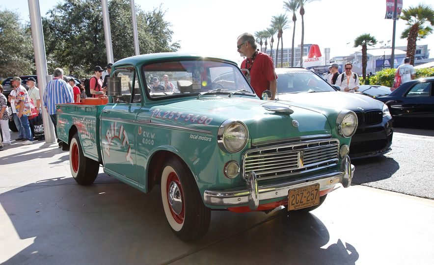 The Best of SEMA 2016, Day Two: A Five-Wheeled Motorcycle, an Electric Datsun, and More - Slide 6