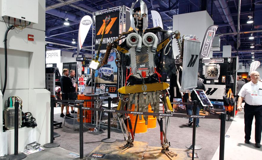 The Best of SEMA 2016, Day Two: A Five-Wheeled Motorcycle, an Electric Datsun, and More - Slide 12