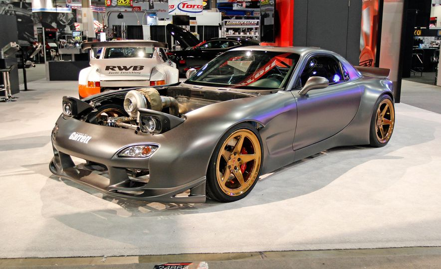The Best of SEMA 2016, Day Three: Sleepers, a Four-Rotor Wankel, and a 12-Cylinder Small-Block - Slide 4
