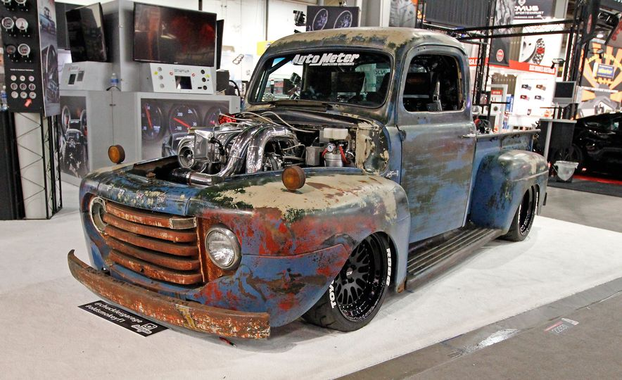 The Best of SEMA 2016, Day Three: Sleepers, a Four-Rotor Wankel, and a 12-Cylinder Small-Block - Slide 12