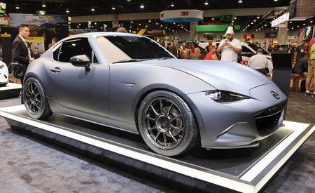 Cup Runneth Over: Mazda MX-5 Miata RF Kuro Is a Realistic Concept