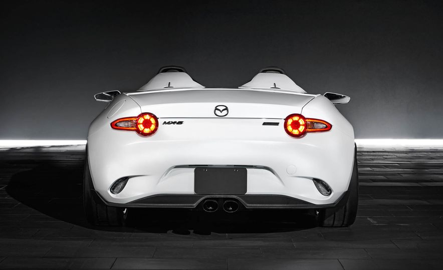 Mazda MX-5 Miata Speedster concept - Slide 12