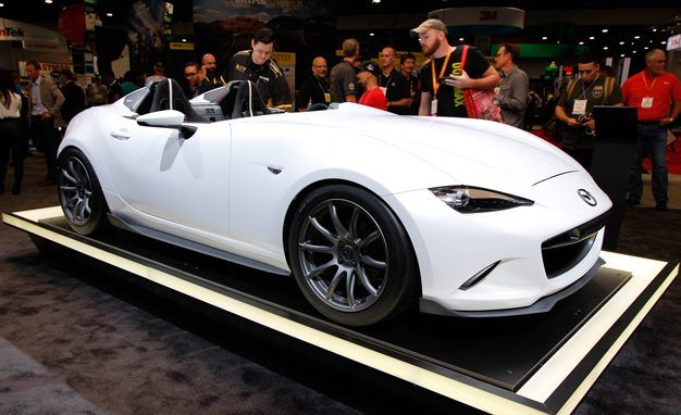 Mazda MX-5 Miata Speedster Evolution Cuts Out Weight for SEMA – News ...