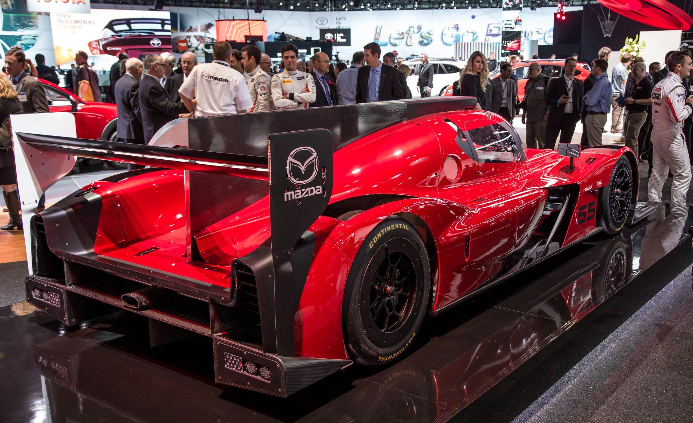 Mazda RT24 P Race Car Prototype   Slide 3