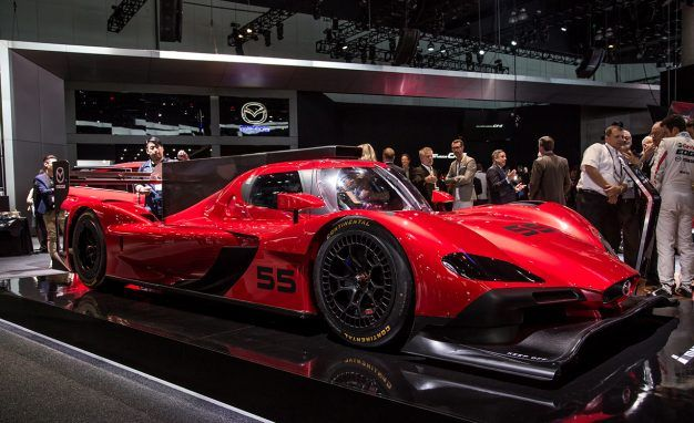 View 9 Photos Mazda RT24 P Race Car Prototype PLACEMENT