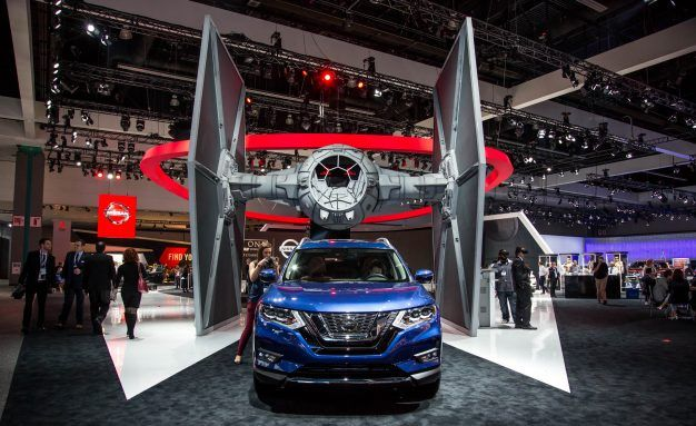 Nissan Brought a Mive Star Wars TIE Fighter to the L.A. Show ...