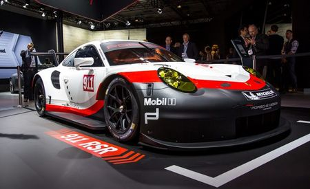 Porsche Builds a Mid-Engined 911 RSR for Le Mans and IMSA Competition