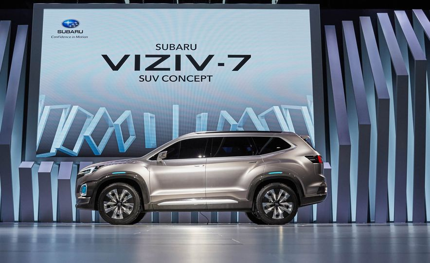 Subaru VIZIV-7 SUV concept - Slide 11