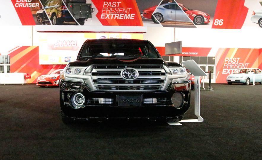 Toyota Land Speed Cruiser concept - Slide 1