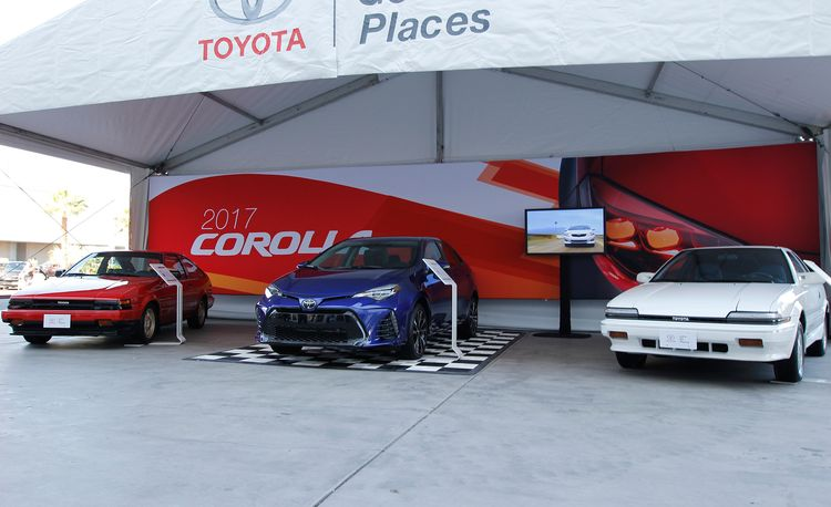 The Not-So-Wild Cars of SEMA: All 11 Generations of the Toyota Corolla
