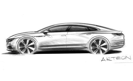 Drawing Near: Volkswagen Arteon To Replace CC