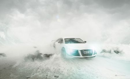 Photographer and Perspective Master Makes Car Ads without Any Cars