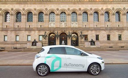 Coming to the Streets of Boston: nuTonomy's Autonomous Renault