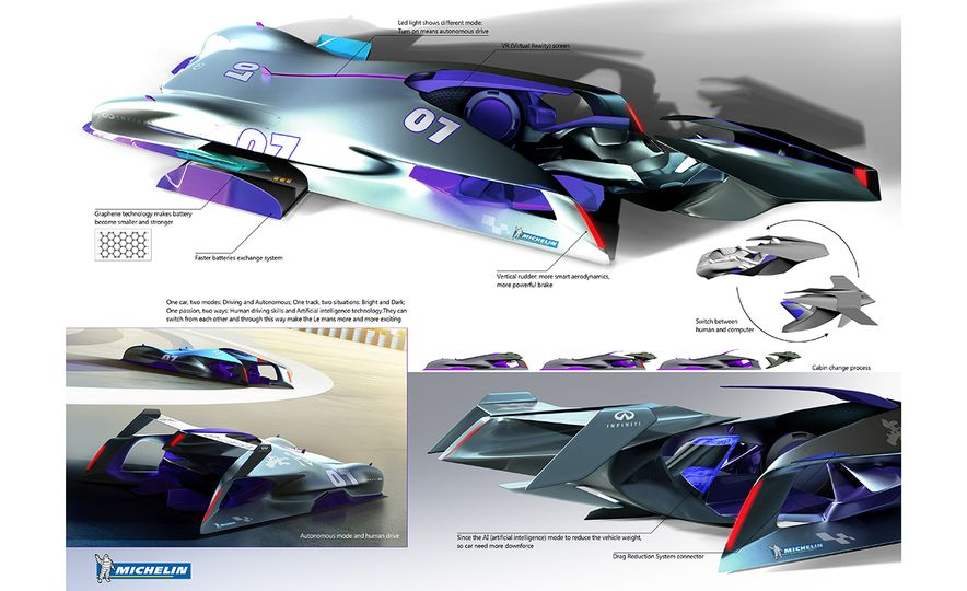 Imagining Le Mans Racing in 2030: These Are the 2017 Michelin Challenge Design Winners - Slide 2