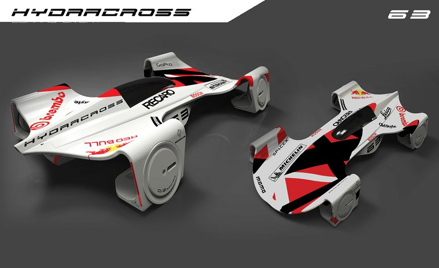 Imagining Le Mans Racing in 2030: These Are the 2017 Michelin Challenge Design Winners - Slide 11