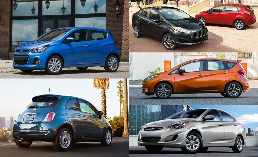 The 10 Cheapest New Cars of 2017 - Slide 1