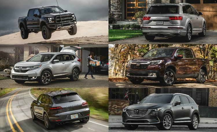 And the Winners Are: 2017 10Best Trucks and SUVs in Pictures