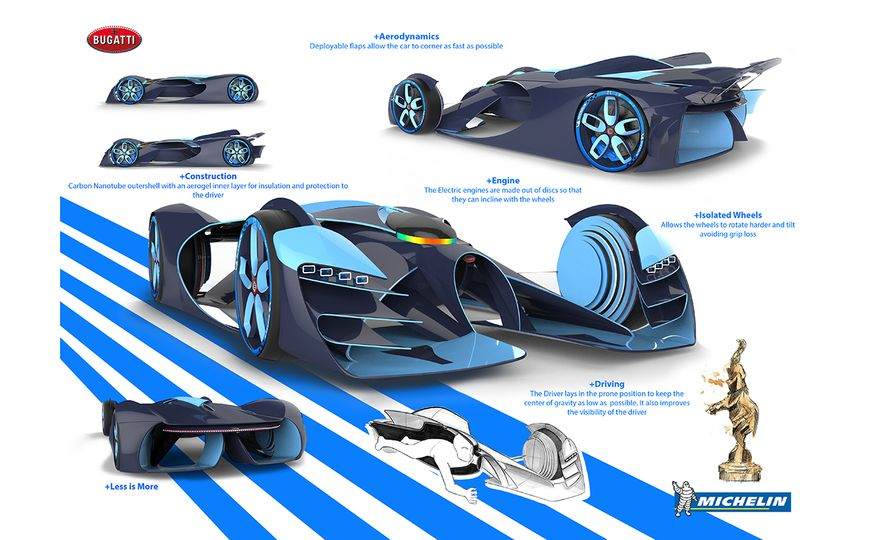 Imagining Le Mans Racing in 2030: These Are the 2017 Michelin Challenge Design Winners - Slide 14