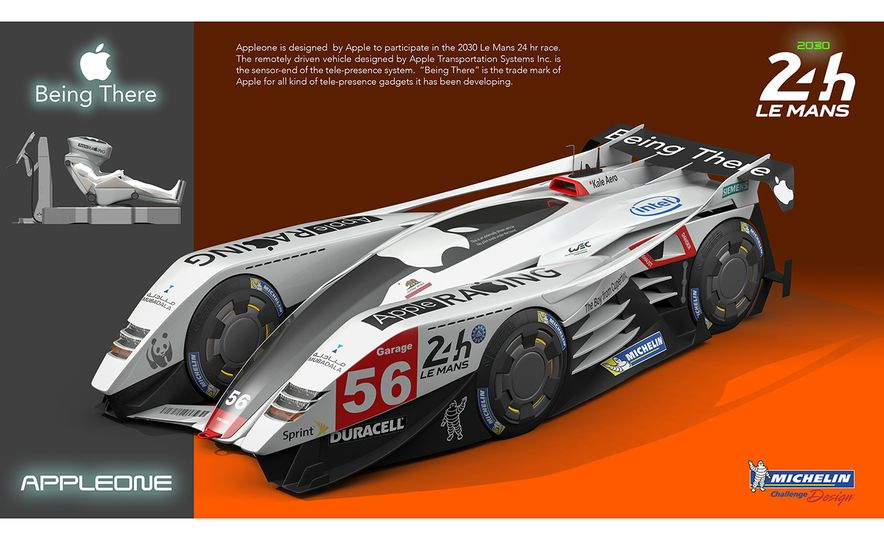 Imagining Le Mans Racing in 2030: These Are the 2017 Michelin Challenge Design Winners - Slide 19