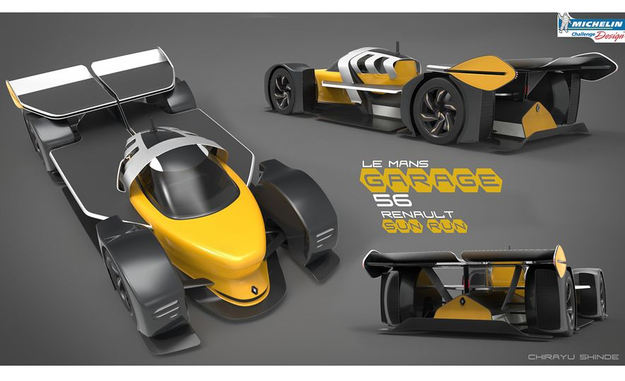 Imagining Le Mans Racing in 2030: These Are the 2017 Michelin Challenge Design Winners - Slide 20