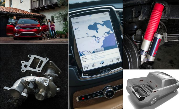 Our 10 Favorite Technologies in 2017 Trucks and SUVs
