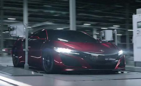 Buy an NSX Supercar, and Acura Will Make You a Personalized Movie of It Being Built