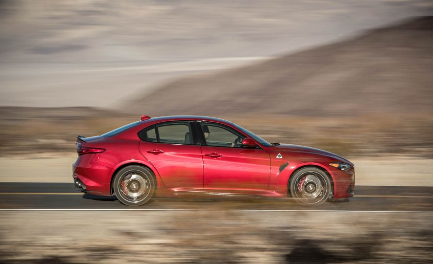 2017 Cadillac ATS-V, 2017 Alfa Romeo Giulia Quadrifoglio, 2017 BMW M3, 2017 Mercedes-AMG C63 S - Slide 6