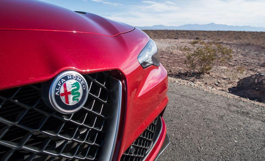 2017 Cadillac ATS-V, 2017 Alfa Romeo Giulia Quadrifoglio, 2017 BMW M3, 2017 Mercedes-AMG C63 S - Slide 12