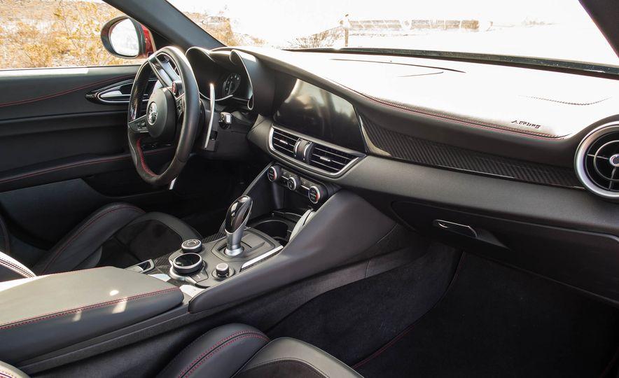 2017 Cadillac ATS-V, 2017 Alfa Romeo Giulia Quadrifoglio, 2017 BMW M3, 2017 Mercedes-AMG C63 S - Slide 15