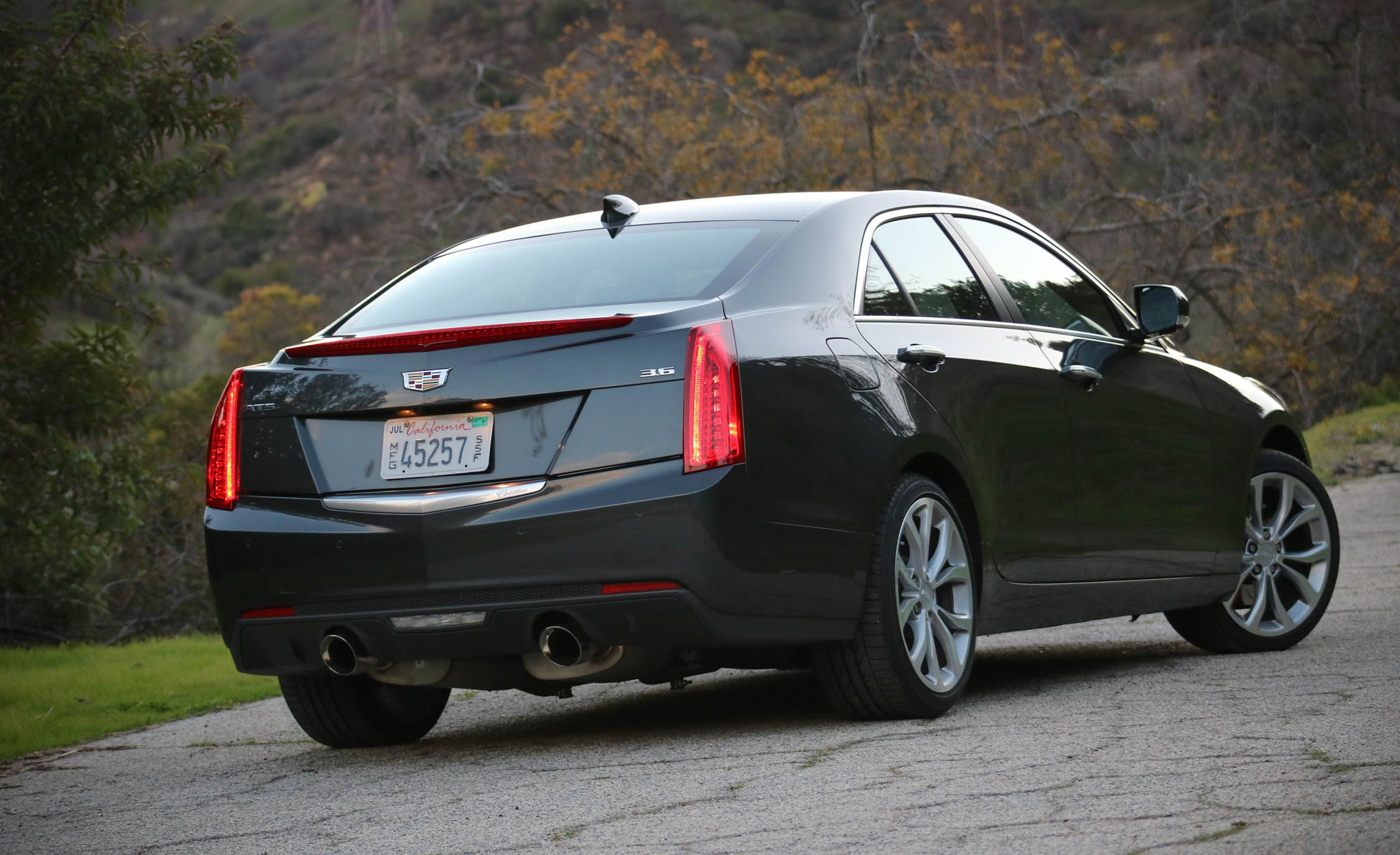 gm parts coupe sedan ats performance authority chrome and black announces cadillac blog announced package