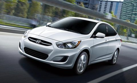 2017 hyundai accent sedan adds value edition trim level news car and driver. Black Bedroom Furniture Sets. Home Design Ideas