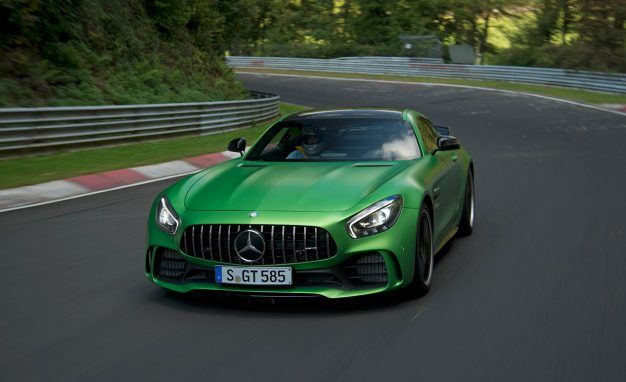 The Mercedes Amg Gt R Lays Down A Mean Nurburgring Lap Time News Car And Driver