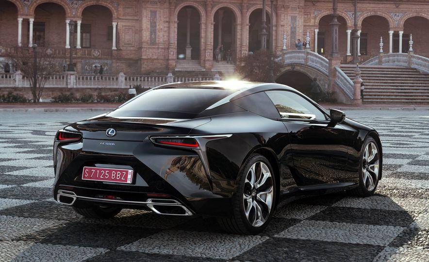 2018 Lexus LC500 - Slide 57