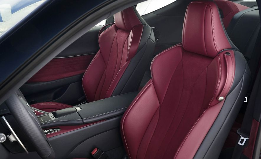 2018 Lexus LC500 - Slide 66
