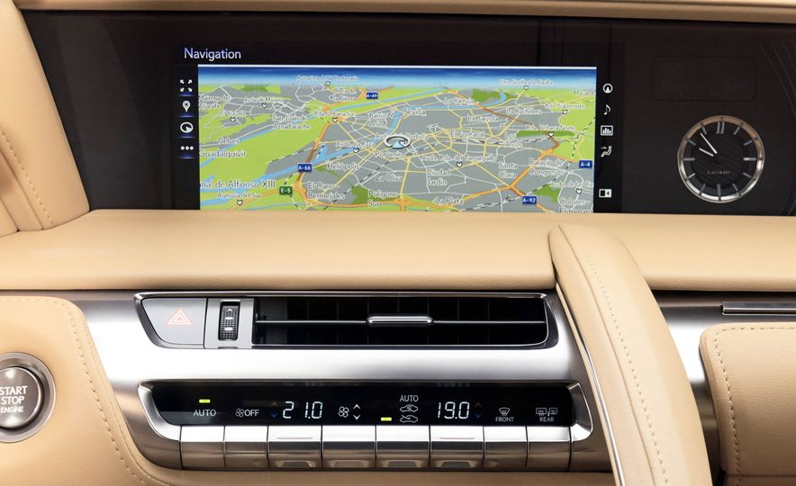 2018 Lexus LC500 - Slide 102
