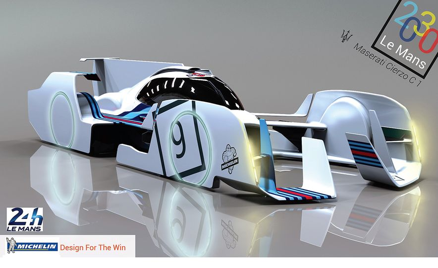 Imagining Le Mans Racing in 2030: These Are the 2017 Michelin Challenge Design Winners - Slide 4