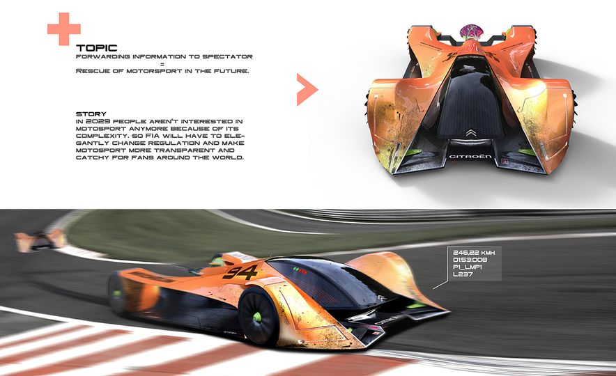 Imagining Le Mans Racing in 2030: These Are the 2017 Michelin Challenge Design Winners - Slide 7