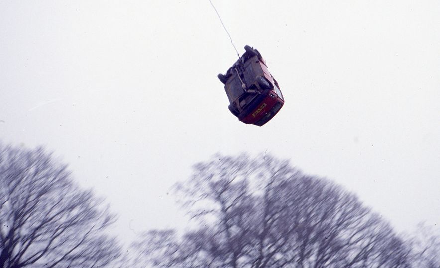 Sweet Jumps: Here Are a Bunch of Pictures of Cars Flying through the Air - Slide 1