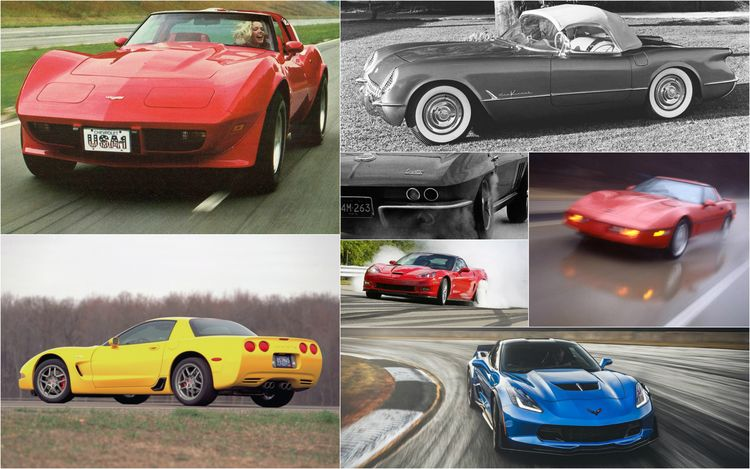 Chevrolet Corvette: A Brief History in Zero-to-60-MPH Acceleration