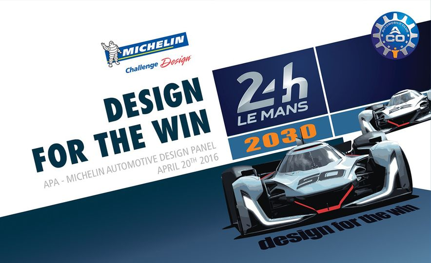 Imagining Le Mans Racing in 2030: These Are the 2017 Michelin Challenge Design Winners - Slide 1