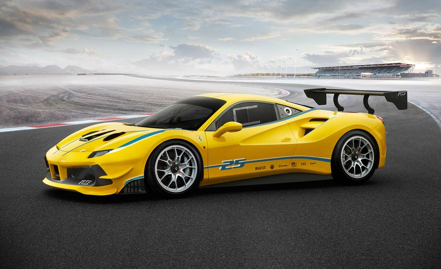 Ferrari 488 Challenge race car - Slide 27
