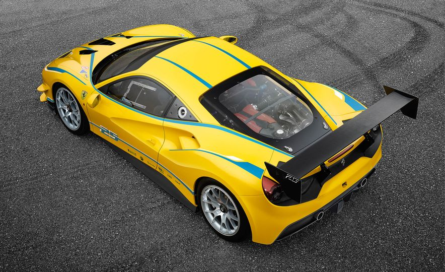 Ferrari 488 Challenge race car - Slide 28