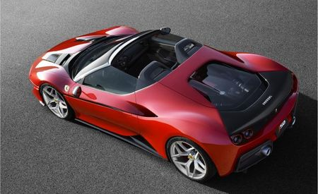 Happy Anniversary, Japan: Ferrari J50 Bows As the Ultimate 488 Spider